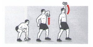 Dumbbell-Single-Arm-Snatch