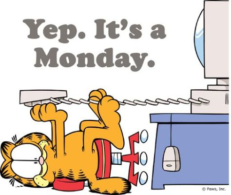 garfield-monday