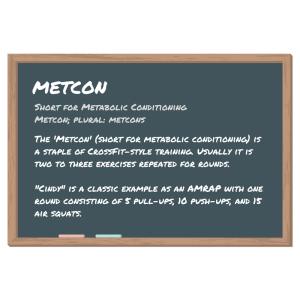 metcon definition