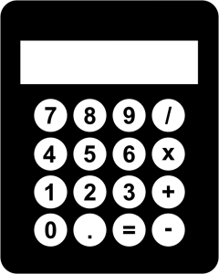 Black-And-White-Calculator