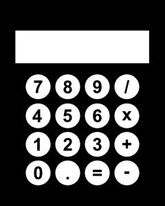 Black-And-White-Calculator