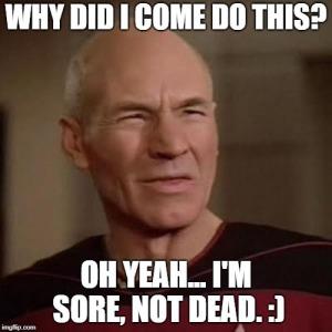 sore not dead